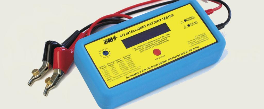 ACT 612 para o teste de baterias